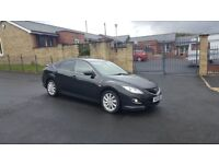 2011 FACELIFT MAZDA 6 TS2 2.2 D BLACK FULLYLOADED FULL LEATHER ELECTRIC SEATS PARKING SENIORS RVM