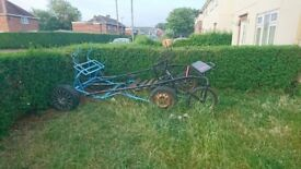 2 tie down exercises carts 1 light weight quick hitch sulky cart and harnesses
