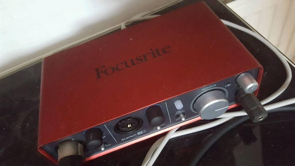 Focusrite Scarlett 212 Audio Interface Second Gen