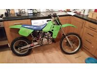 Kawasaki kx 80 big wheel (project)