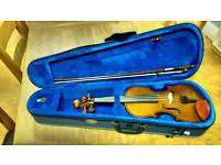 4/4 violin for collection basically new