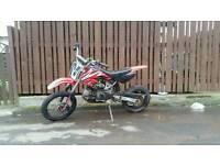 Suda pit bike 125 not cr, yz , kx, stomp