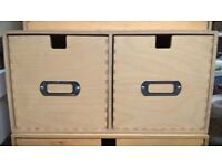 2 DRAWER STORAGE UNIT FOR ALL SORTS CRAFT CD