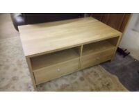 Oak effect coffee table / T.V. unit Good and solid £30 CHEAP local DELIVERY Stalybridge SK15 2PT