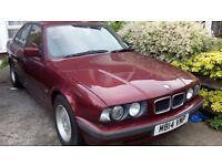 BMW 518i 1796cc 1995 E34 M Reg spares or repair.
