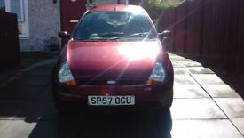 FORD KA STYLE 2007 MOT till October 2018. excellent little run a round, idle for new driver.
