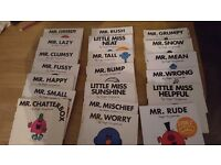 Mr Men/Miss books