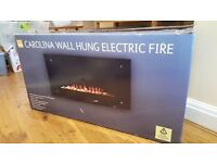 Wall Hung Electric Fire **BRAND NEW**