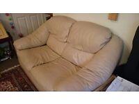 FREE cream beige 2 seater sofa - very comfortable!