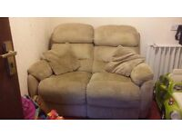 2 seater manual recliner **MASSIVELY REDUCED**