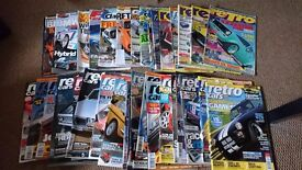 CAR MAGAZINES RETRO CARS, CLASSIC FORD, PERFORMANCE BMW ETC...