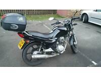 Sym xs 125 motobike 2014 fantastic work horse