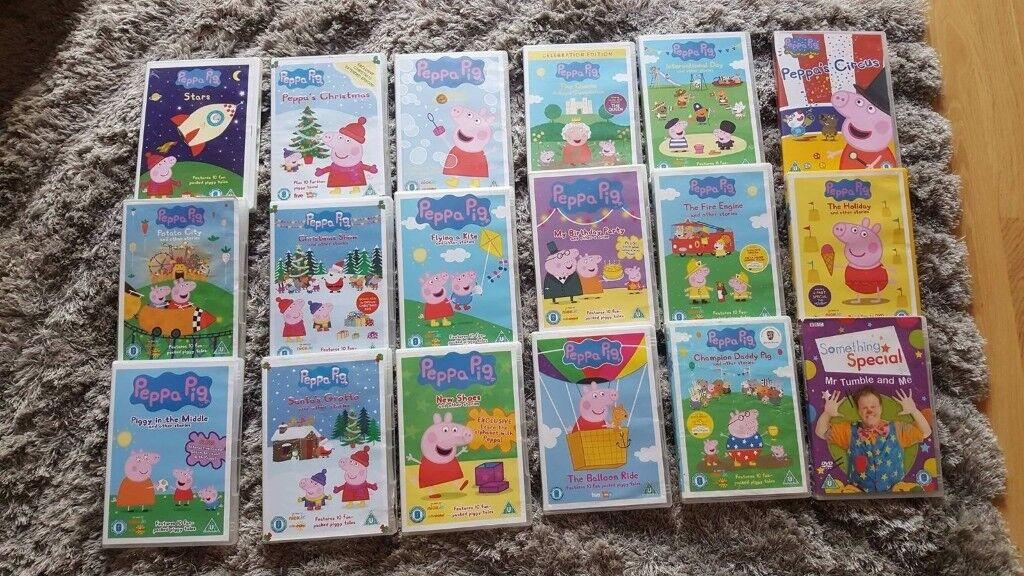 Peppa pig bundle dvd collection
