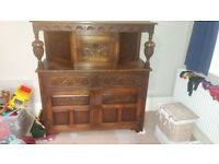 Antique Victorian Sideboard - reduced for quick sale