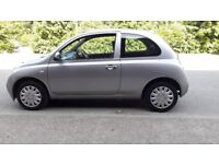 nissan micra automatic, low mileage (46500 miles), yesterday fully serviced