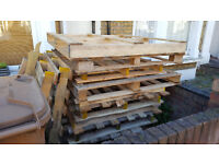 Free Timber Pallets for Firewood, Project