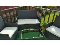 Garden Patio Table Chairs/Drinks table