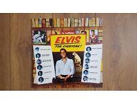 Elvis:For Everyone album vinyl lp NL84232 black label 1983 made in Germany.