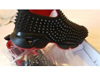 Men's Sneakers Trainers Inspired by Christian Louboutin Design, Brand New, NW London