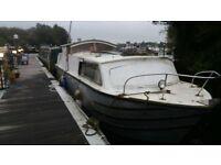 30ft houseboat. liveaboard. boat
