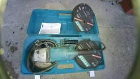 Makita 9 inch 240 volt grinder