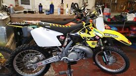 2007 suzuki rm250 rm 250 scrambler