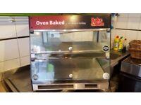 Heated Pie Cabinet
