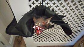 Halloween decoration, hanging bat