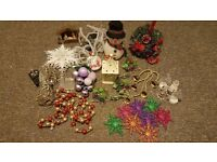 Bundle of christmas decorations...