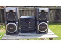 Sony outside music tower speakers amplifier hifi