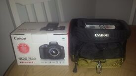 New Canon 750D with 18-55mm lens comes with Canon 100EG bag