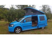 VW Caddy Camper, 4 Berth, Excellent Condition.