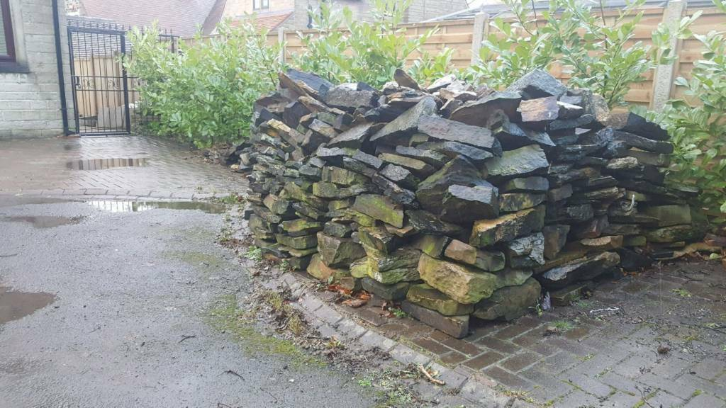 Dry Wall stone from Garden wall | in Huddersfield, West ...