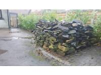 Dry Wall stone from Garden wall