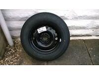 vauxhall corsa spare wheel & tyre (brand new) 2008 model on