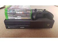Xbox one 1tb + 5 games