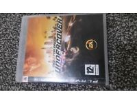 Ps3 game need for speed undercover