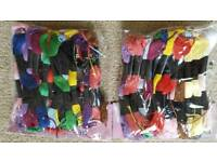 60 x ASSORTED EMBROIDERY THREAD - BRAND NEW