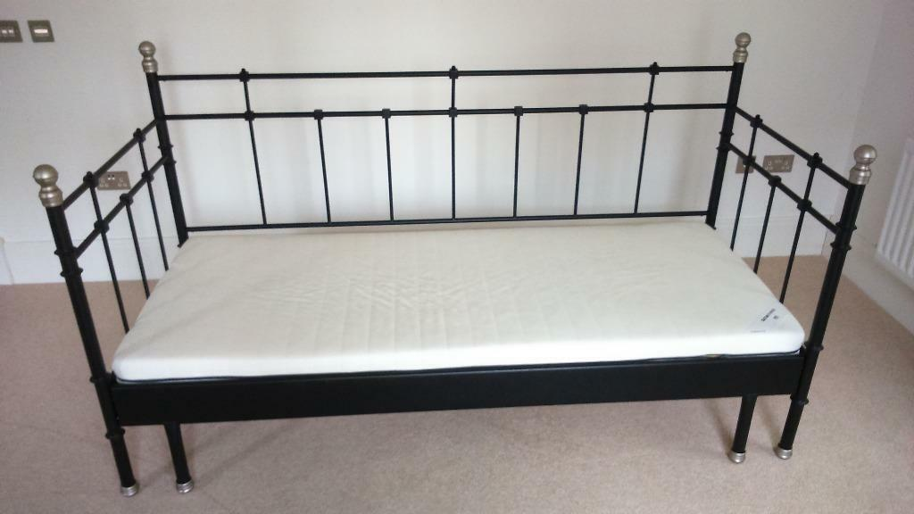 Ikea Svelvik Day Bed. 1 single foam mattress, could add another ...