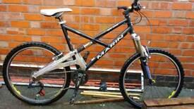 REDUCED Marin rift zone mountain bike Mavic wheels deore Bombers
