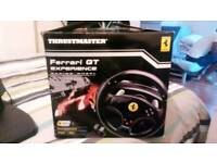 Ferrari gt experience wheel + pedal ps3 and pc