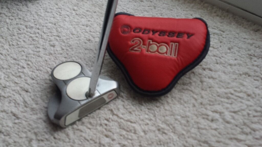 Odyssey 2 Ball Center Shafted Putter 33 Quot With 2 Thumb Lite