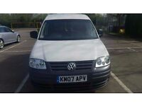2007 VW CADDY VERY CLEAN VAN SERVICE HISTORY 12 MONTH MOT