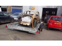 CAR TRANSPORTER CAR TRAILER TWIN AXLE ** TILT/SLIDE/WINCH ** BRIAN JAMES OR IFORWILLIAMS TRANSPORT