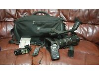 sony z5 camcorder with all accessories