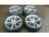 AUDI 20 INCH ALLOY WHEELS 5X112 A6 A8 A7 AUDI MERCEDES VW T4