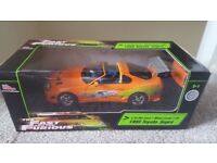 Fast ans Furious 1:18 toyota Supra racing Champions Diecast Model