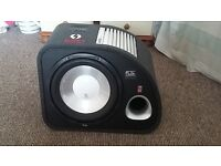FLI Trap 1200W Subwoofer with built in amp!!