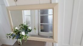 Bevelled Mirror finished in Annie Sloan chalk paint, 90 x 65 cm
