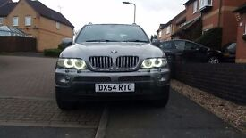 BMW X5 3.0d sport in sterling grey,facelift 2004